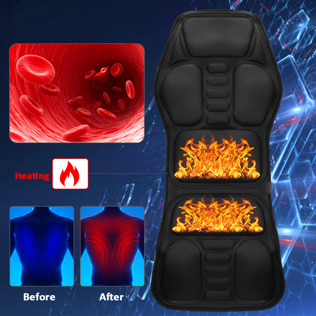 Business Office Furniture Office Chair Electric Heating Massage Pad Chair