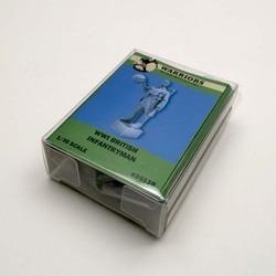 Warriors 1/35 wwii britânico infantaria resina soldado kits 1 conjunto caixa embalagem