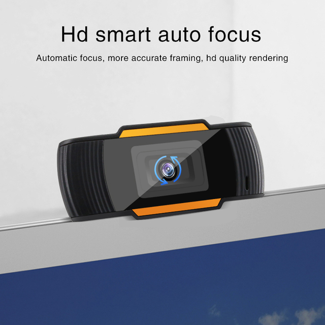 Webcam 1080P 720P 480P Full HD Web Camera Built-in Microphone Rotatable USB Plug Web Cam For PC Computer Mac Laptop Desktop 4