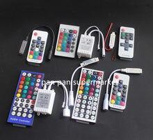 Светодиодная мини-лента, 3/11/17/24/40/44 клавиши, ИК, Wi-Fi, светодиодный RGB-контроллер, 12 В постоянного тока, мини-лента для 3528 5050 RGB