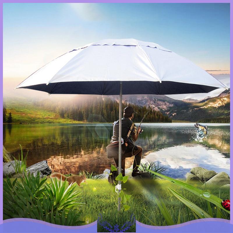 Adjustable Outdoor Parasol Sun Naungan Payung Taman Baru Pantai Teras Memiringkan Tilt Payung Parasol Perlindungan Anti Ultraviolet