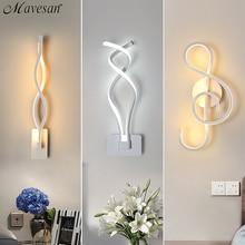 LED Wall Lamp Modern Wall Light For Bedroom Beside Reading Indoor Wall Lamps Living Room Corridor Hotel Room Lighting Decoration