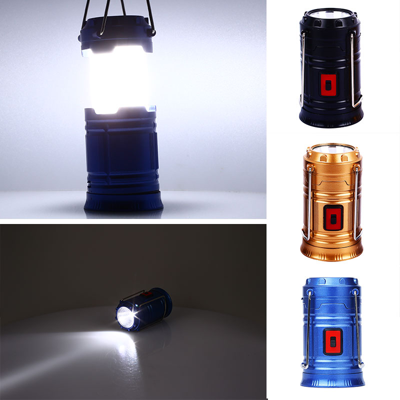 Sports Lamp COB LED Lighting Lights Camping Lantern Emergency Light Portable Super Bright Flashlight Sport Rechargeable