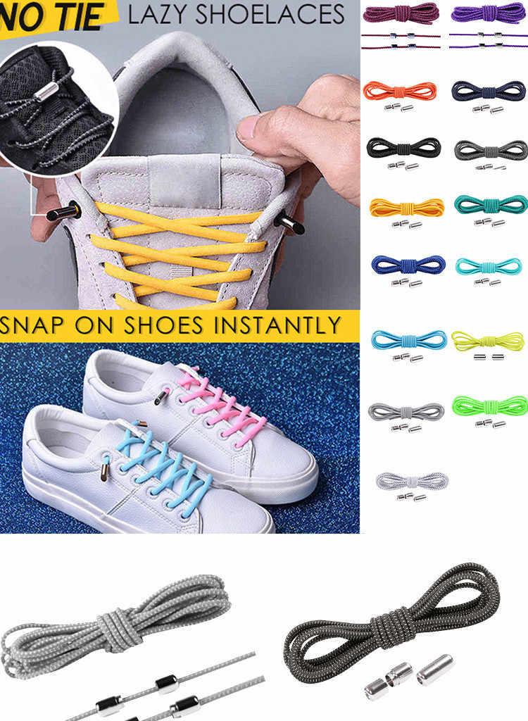 1 Pair No Tie Lazy Shoelaces Bandage