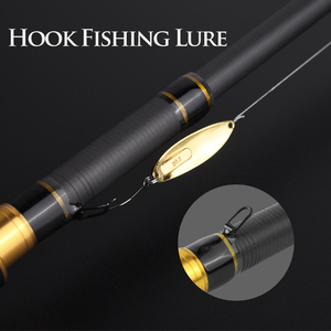 Image 4 - LINNHUE New 1.8m 2.1m Fishing Rod Carbon Spinning Casting Rod Travel Fishing Light Lure 5 35g 8 GR 7 Section Fishing Tackle