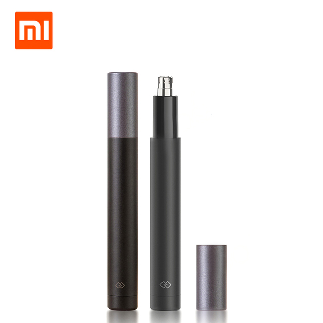 Xiaomi триммер для волос в носу HN1 с острыми лезвиями для мытья тела портативный минималистичный дизайн безопасная отделка волос в носу для семейного ежедневного использования мини