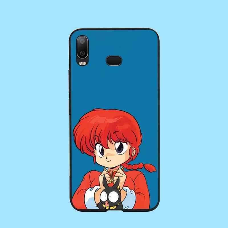 Hpchcjhm Ranma 1 2 Zwart Tpu Soft Phone Case Cover Voor Samsung A10 A20 A30 A40 A50 A70 A71 A51 a6 A8 2018