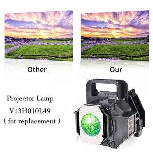Image 2 - גרנד הנורה מנורת מקרן תואם עבור EPSON ELPLP49 EH TW3600 PowerLite HC 8350 EH TW3200 עם דיור