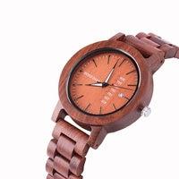 DODO DEER China Watches Men Stylish Wrist Watch Life Waterproof Japan Quartz Week Calendar Wood Timepieces OEM A29