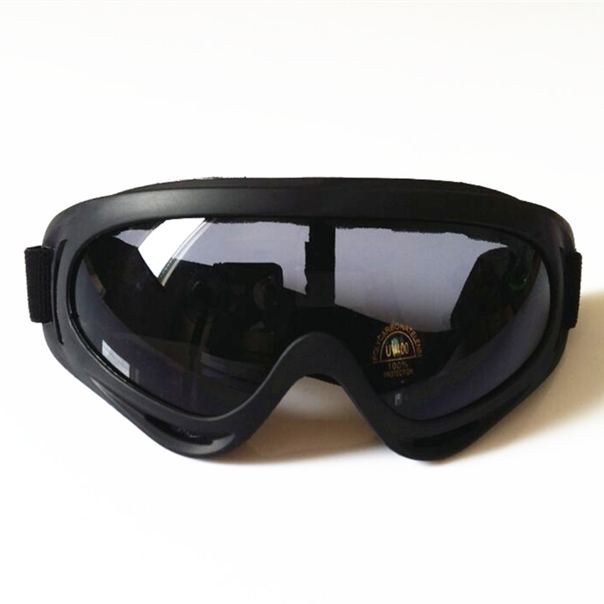 Outdoor Protective Goggles X400 Goggles Ski Goggles Off-road Goggles Outdoor Wind-proof Glasses Riding Eye-protection Goggles