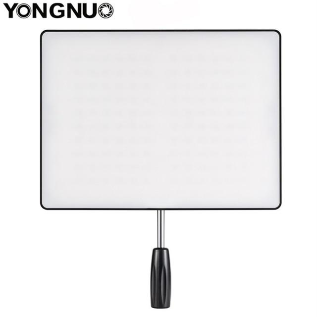 YONGNUO YN600 Air Ultra cienka kamera wideo LED 3200K 5500K/5500K + zasilacz sieciowy do Canon Nikon Sony