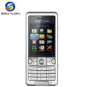 Original Sony Ericsson C510 Mobile Phone 3.15MP Bluetooth FM Unlocked 3G Cell Phone