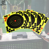 30pcs 8 Inches Hunting Training  Aim Practice splatter Adhesive Stickers Paper Target  for shooting