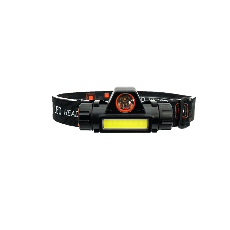 MingRay 2019 New USB Rechargeable LED Headlamp 3 W COB High Lumen Lithium Battery Waterproof 2 Beams Headlight Head Lamp Light