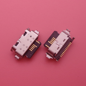 1pcs For Alcatel 3X 2019 5048 5048A 5048U 5048Y Micro USB Jack Charging Socket Port Plug Dock Connector image