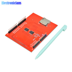 Image 5 - 2.4 אינץ TFT LCD מגע מסך חומת לarduino UNO R3 Mega2560 LCD מודול 18 bit 262,000 גוונים שונים תצוגת לוח מודול