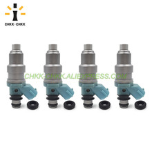 CHKK-CHKK 23209-74110 23250-74110 fuel injector for TOYOTA CARINA / CORONA / CAMRY / MARK 2 / CHASER 1.8L 4SFE 10set fuel injector repair kits filter removal tool 23250 28080 23250 0h030 fit for toyota corolla camry 2 4l with free ship