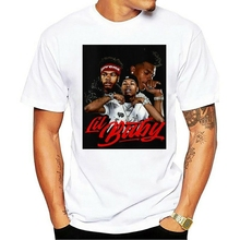 LIL BABY Hip Hop Rap RnB Black T shirt