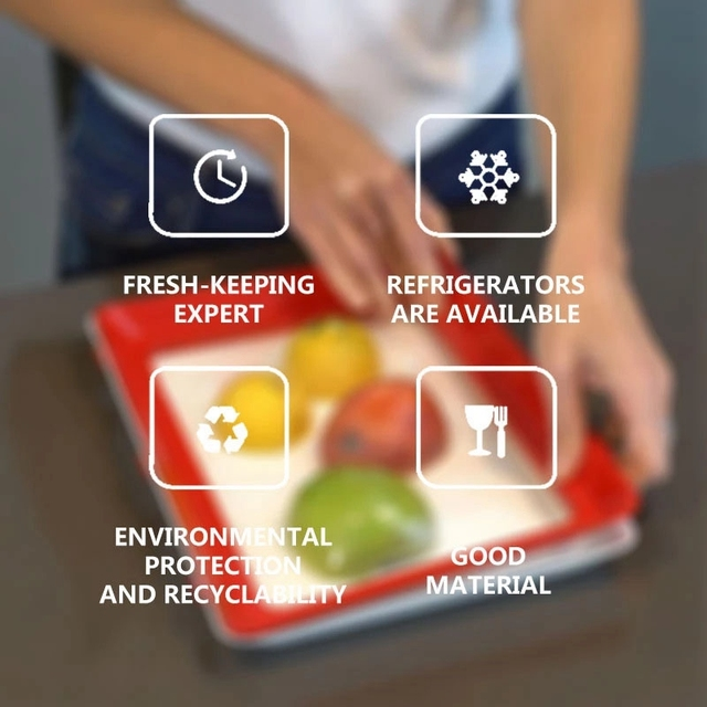 Eco Food Preservation Tray 6