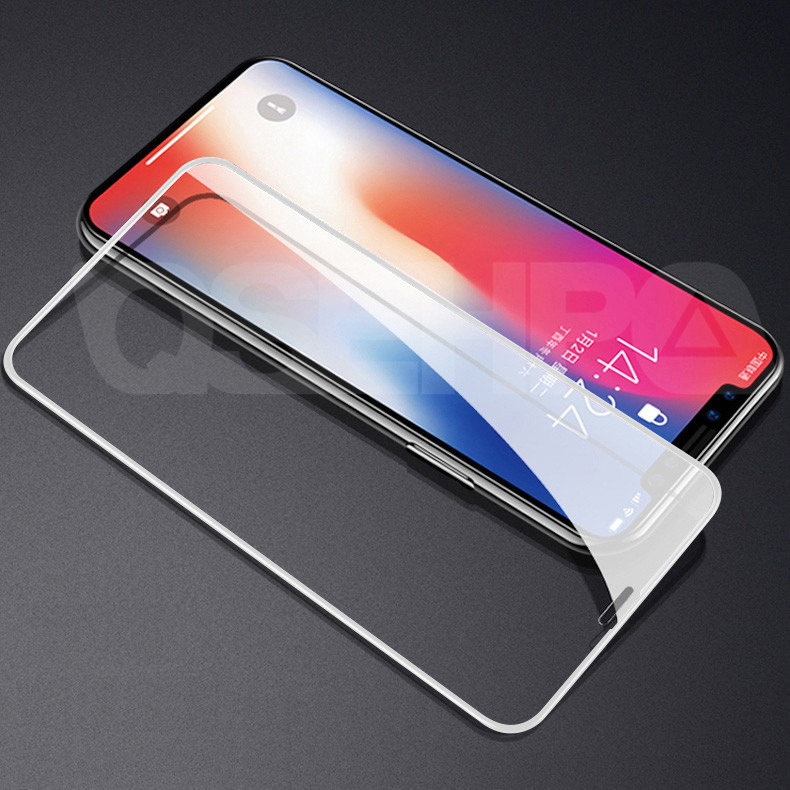 Image 5 - 10D Curved Edge Full Cover Tempered Glass on the For iPhone X XR XS Max Screen Protective Glass For iPhone 7 8 6 6S Plus Film-in Phone Screen Protectors from Cellphones & Telecommunications