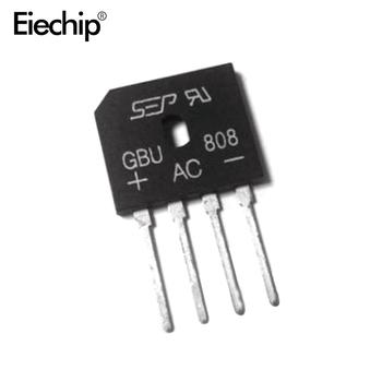 5 sztuk GBU808 800V 8A moc diodowy mostek prostowniczy tanie i dobre opinie Bezpo¶rednio hole esp8266 stm32 DC-DC dht22