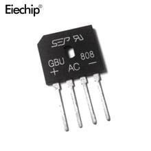5Pcs GBU808 800V 8A Powerไดโอด