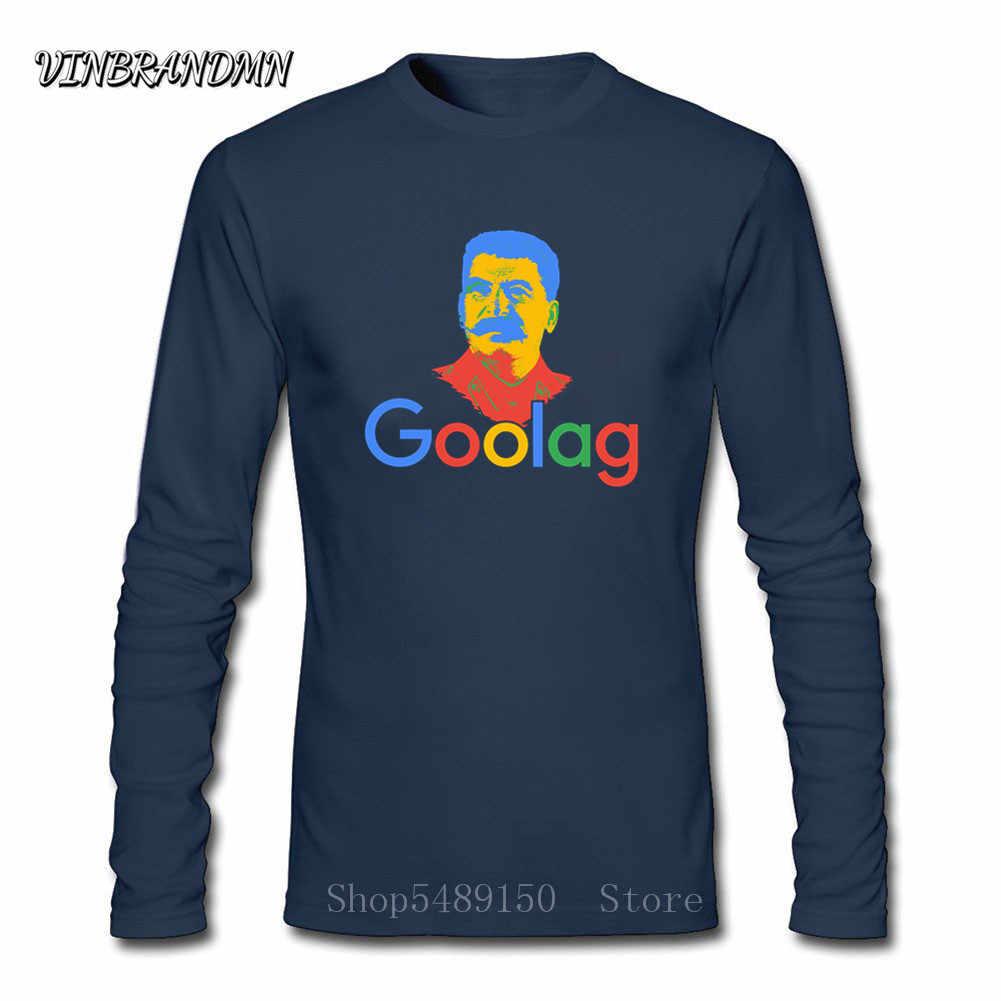 Funny Goolag USSR Stalin Artsy Awesome Artwork Drawing Printed Tee Shirt Soviet Leader Men's Retro T-Shirt Lenin Politician Tops