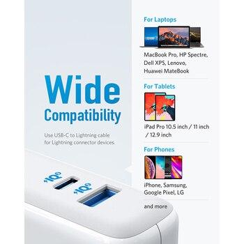 Зарядное устройство Anker USB Type-C с поддержкой быстрой зарядки 60 Вт 3