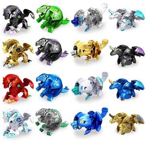 TOMY BAKUGANES Toupie Metal Fusion met Monster Ball Gyro Atletiek Speelgoed Deformation Animal Instant deformation dinosaur