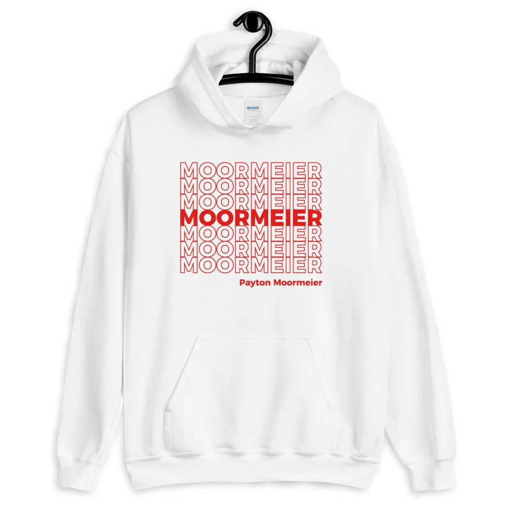 Men's hoodies merch payton moormeier autumn winter long sleeve hooded sweatshirts casual thicked pullovers мерч пэйтон мурмиер