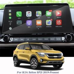 Dla KIA Seltos SP2i 2019 Present Car Styling Display Film ekran nawigacyjny gps folia ochronna obsługa ekranu lcd w Naklejki samochodowe od Samochody i motocykle na
