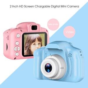 Image 1 - Детская мини камера, детские развивающие игрушки для мальчиков и девочек, детские подарки, подарок на день рождения, цифровая камера 1080P, проекционная видеокамера