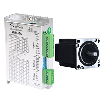 цена на 57mm 60mm Stepper driver 2NS556C Or 2NS556A with stepper motor 60BG56 hold torque 1.5Nm with motor length 56mm for 3D printer