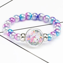 Cartoon Beads Toys For Children Lacing Bracelets Hand-woven Girl Gift Arts And Crafts For Kids Hand Handicrafts Accessories