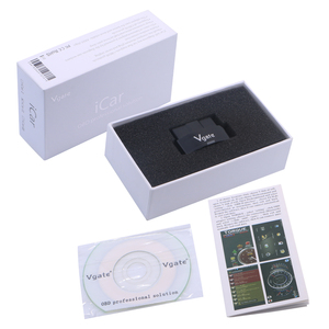 Image 5 - Vgate iCar3 lector de código Elm327 Original, lector de código Real 2,1, compatible con protocolo OBD2, coches ELM 327 iCar 3, Wifi, escaneo para Android/ IOS/PC