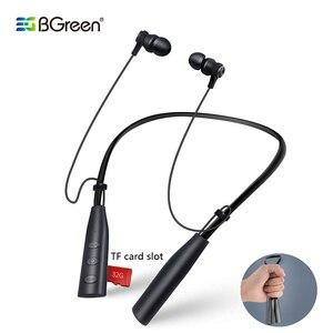 BGreen Bluetooth Sports Earpho