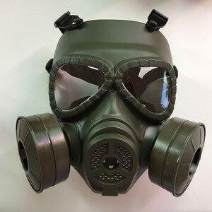 Image 4 - כל פנים ציור ריסוס respirator גז מסכת להגן על אבק מסכת לבטיחות עבודה מסנן ריתוך ספריי מגן אנטי זיהום