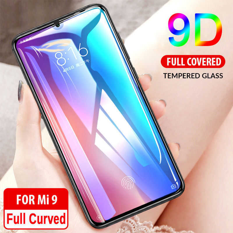 9D Coverage Full Coverage All Glue Tempered Glass For Redmi 4X 5A 6A 5 Plus 6 Pro 7 Screen Protector For Redmi  Go S2 Y2 Y3