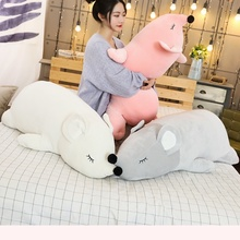 1Pcs Sleep Pillow Super Soft Plush Mouse Plushie Doll Stuffed Rat Plush Animal Toy Mascot Peluche for Children Mouse Plush Toy 1pcs ben 10 cosplay hat plush toy for boy children