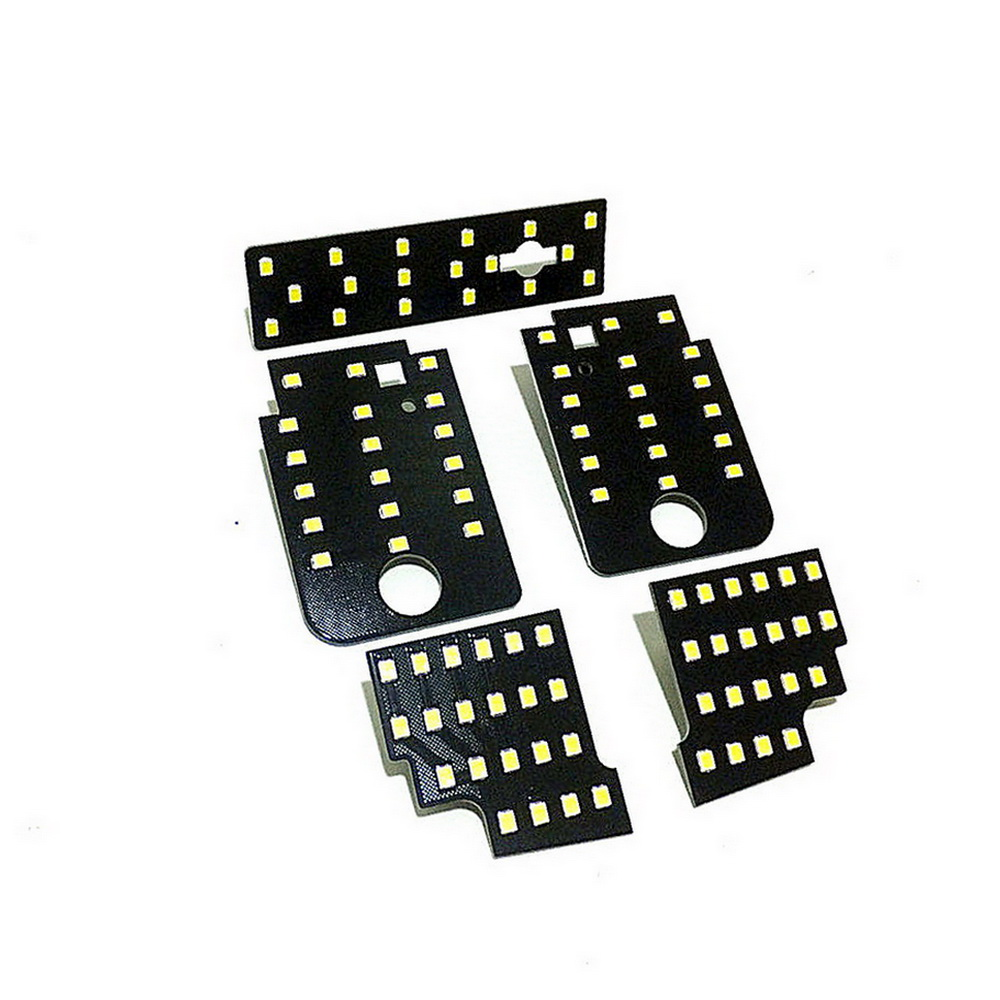 July King Car LED Reading Light Case For Subaru Levorg VM4 VMG 2014-2017,  5 Pcs/set,  6000K White 2835SMD, High Brightness