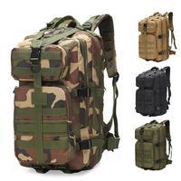 Mochilas tácticas militares de gran capacidad para hombre de 35L  bolsas de asalto militares para exteriores  3P  paquete para Trekking  acampar  cazar y exteriores  bolsa 8
