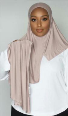 J9  10pc Modal Women Plain Instant Cotton Jersey Scarf Hijab Wraps And Shawls  Femme Muslim Hijabs Store Ready To Wear Headscarf