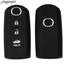 Пульт дистанционного управления 3 кнопки ключ чехол для mazda