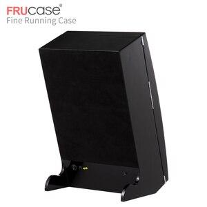 Image 5 - FRUCASE siyah yüksek kaplama otomatik saat zembereği kutu ekran toplayıcı saklama AC güç kumandalı ultra sessiz 12 + 4