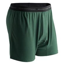2020 Exofficio Underwear Men Loose Boxers Mens Underwear Loose Soft Cueca Boxer Men Homme De Marque Black Gray USA Size S 2XL