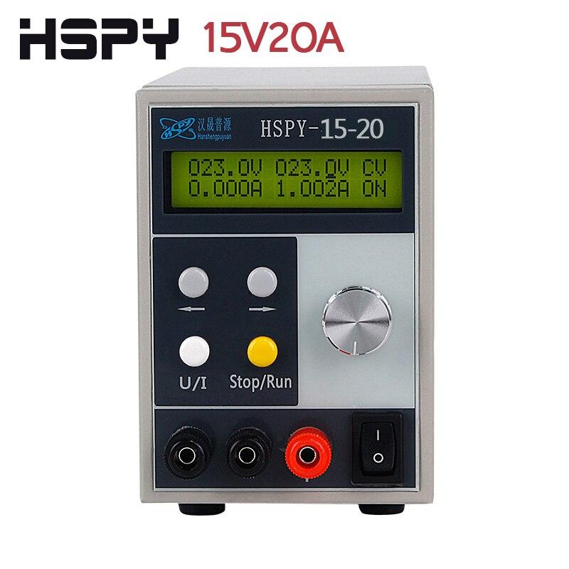 HSPY 15V 20A DC alimentation de laboratoire alimentation réglable alimentation à découpage 0.01V 0.001A Programmable de bureau numérique