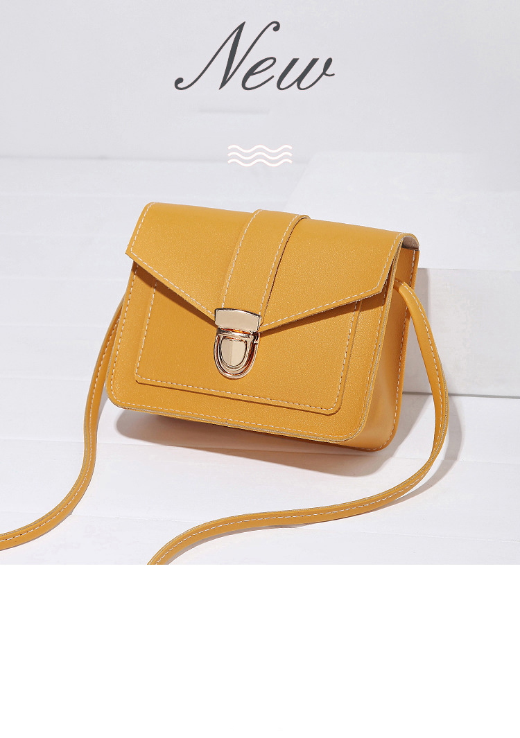 Hb7d8a04dadd441748a162eed4bcc44edG Fashion Small Crossbody Bags for Women 2019 Mini PU Leather Shoulder Messenger Bag for Girl Yellow Bolsas Ladies Phone Purse