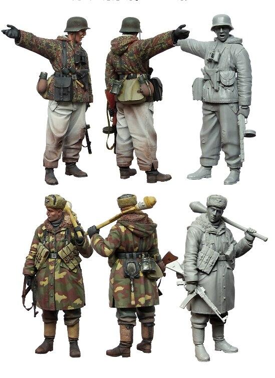 1:35 Winter Anti-tank Soldiers