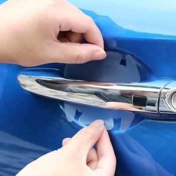 2019 nowa jakość ochrona samochodu uchwyt naklejki do BMW f20 qashqai skoda rapid rav4 nissan qashqai j11 kia rio akcesoria tanie i dobre opinie Drzwi i linii Talii Words Marka akcesoriów do samochodów Do naklejania Bez opakowania 1inchinch Folia ochronna na klamkę auta