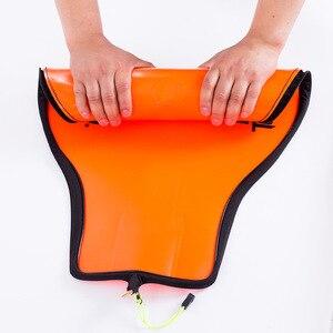 Image 4 - 1 pçs eva portátil dobrável sacos de armazenamento de engrenagem de pesca engrossar durável à prova dwaterproof água haste de peixe bolsa com zíper
